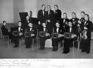 Juan D'Arienzo Group Photo 1940s